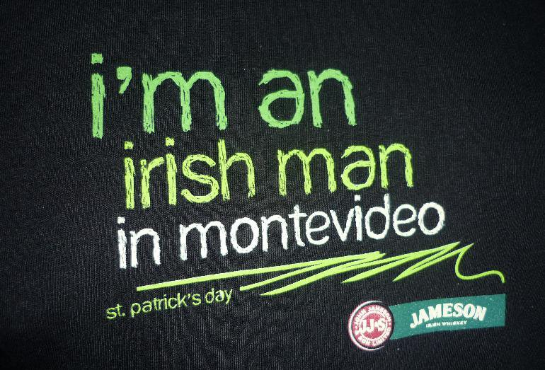 I'm an irish man in Montevideo