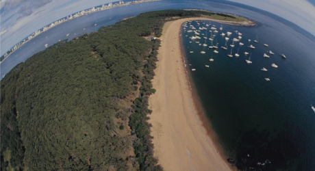 Punta del Este from the sky