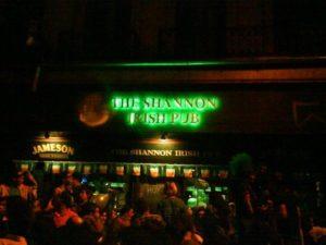 St Patricks day in Montevideo