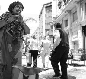 Clown in Montevideo