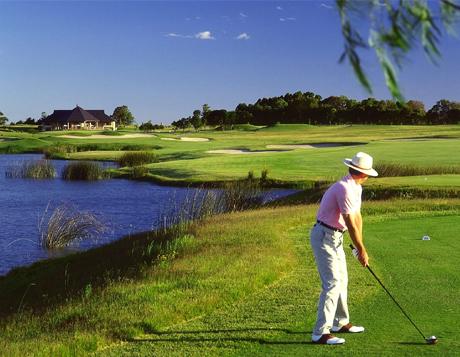 Golfing in Carmelo, Uruguay